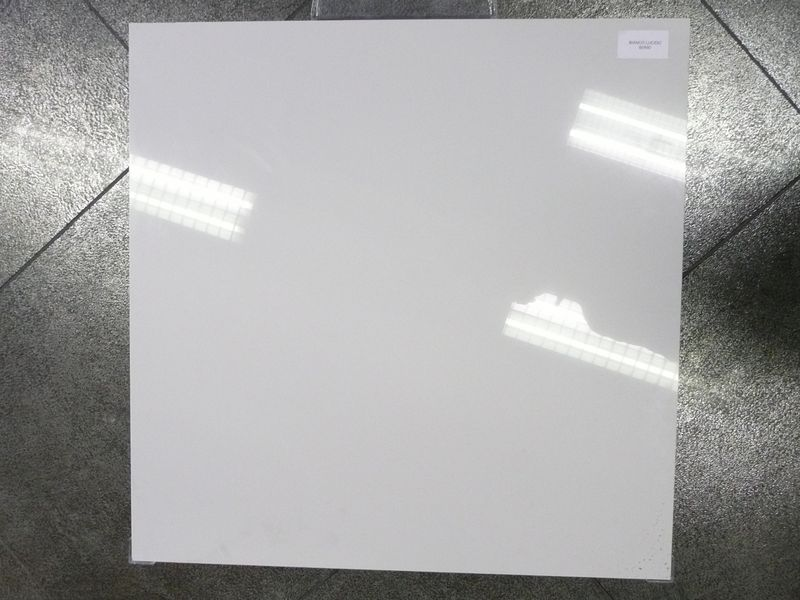Carrelage blanc brillant 60 60cmn grand passage france azur for Carrelage sol interieur blanc brillant