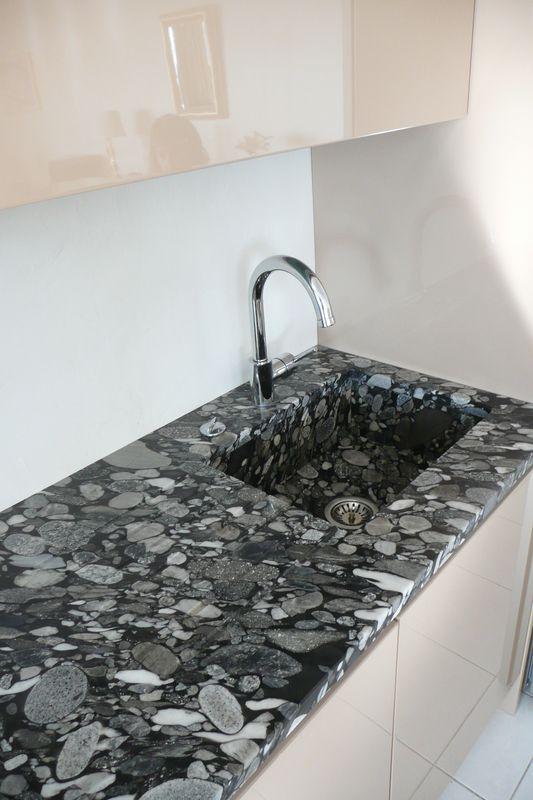 Marbre granit carrelage et plan de travail pour cuisine for Carrelage marbre granit